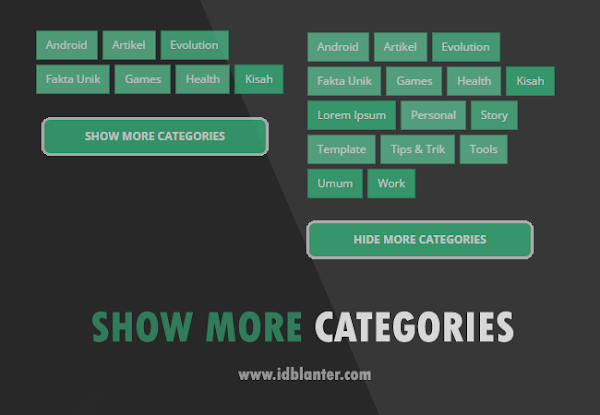 Cara Membuat Show More Categories di Blog
