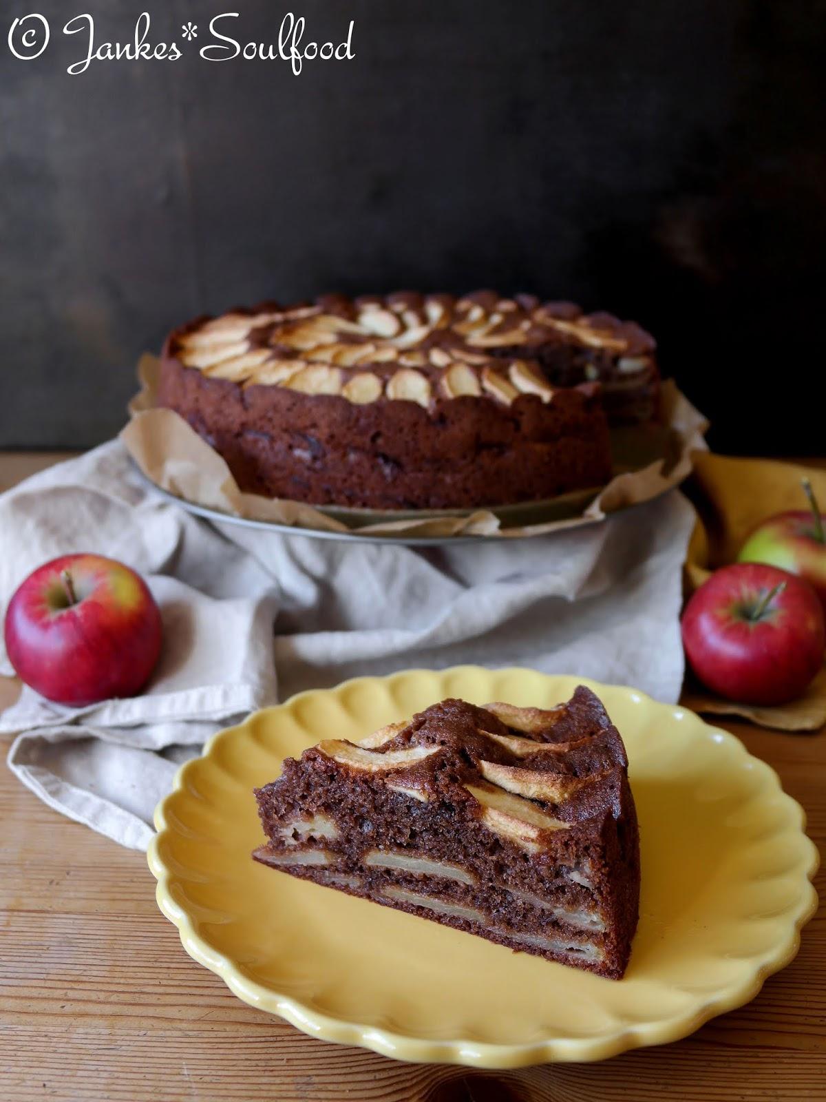 Geschichteter Apfelkuchen von Jankes Soulfood