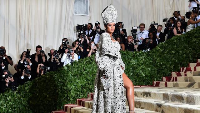 Rihanna Maison Margiela dress MET Gala 2018