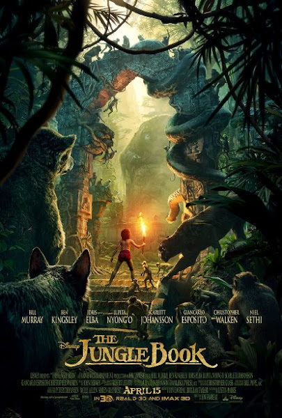 Poster of The Jungle Book 2016 720p Hindi BRRip Dual Audio Full Movie