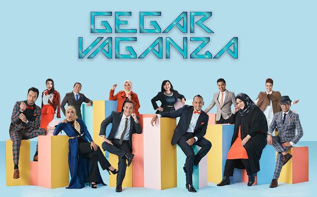 liza hanim, lan kristal, gegar vaganza, syura, hazami, gv2017,
