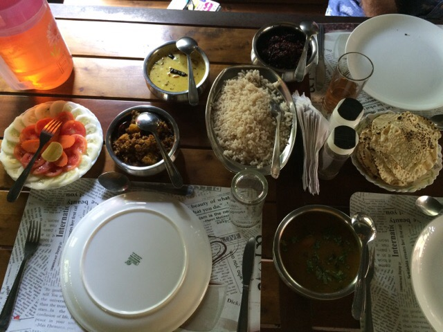 Kerala Food at Hinterland Village Retreat