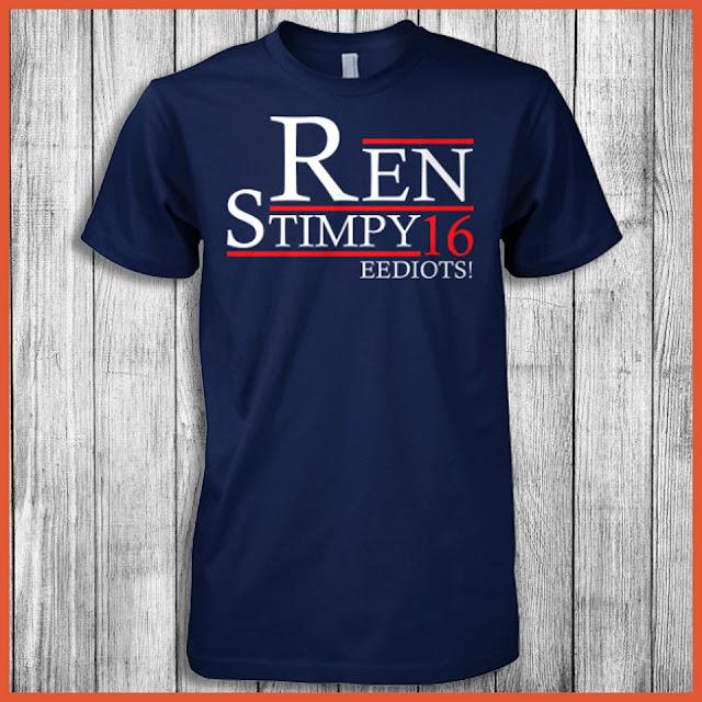 Ren Stimpy - Eediots 2016 T-Shirt