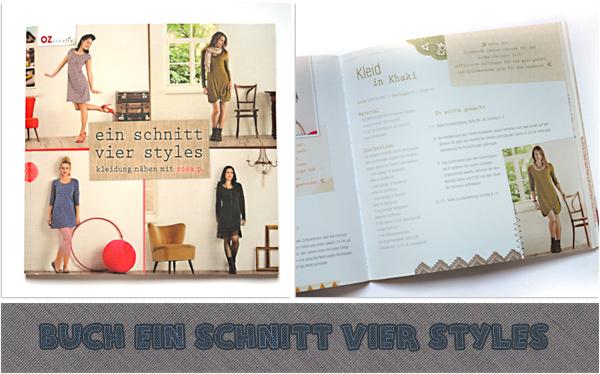 Buch ein schnitt vier styles by rosa p.