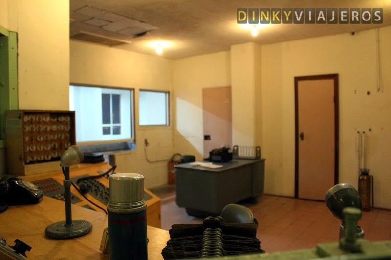 Oficinas de la prisión de Alcatraz