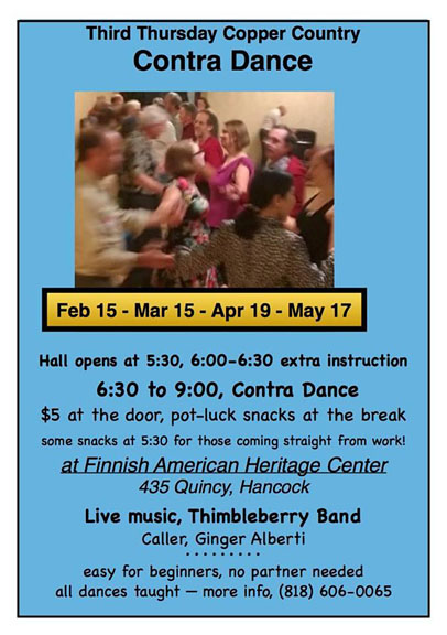 Contra Dances in Hancock