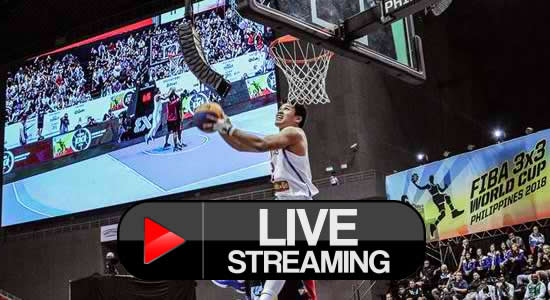 Live stream list: SLAM DUNK Contest FIBA 3X3 World Cup FINAL ROUND
