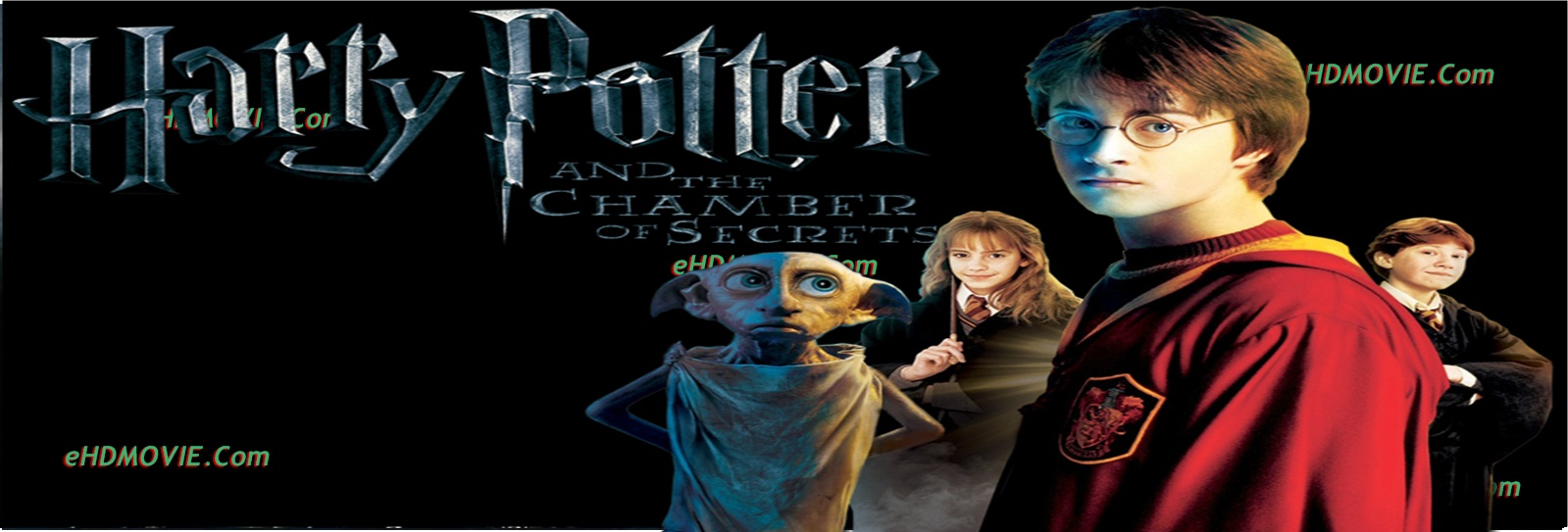 Harry Potter and the Chamber of Secrets 2002 Full Movie English 720p – 480p ORG BRRip 550MB - 1.3GB ESubs Free Download