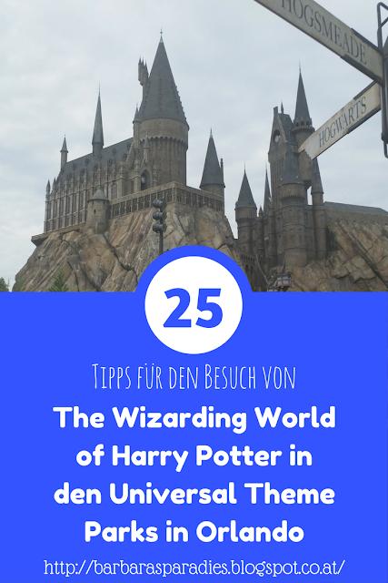 25 Tipps für den Besuch von The Wizarding World of Harry Potter in den Universal Theme Parks in Orlando