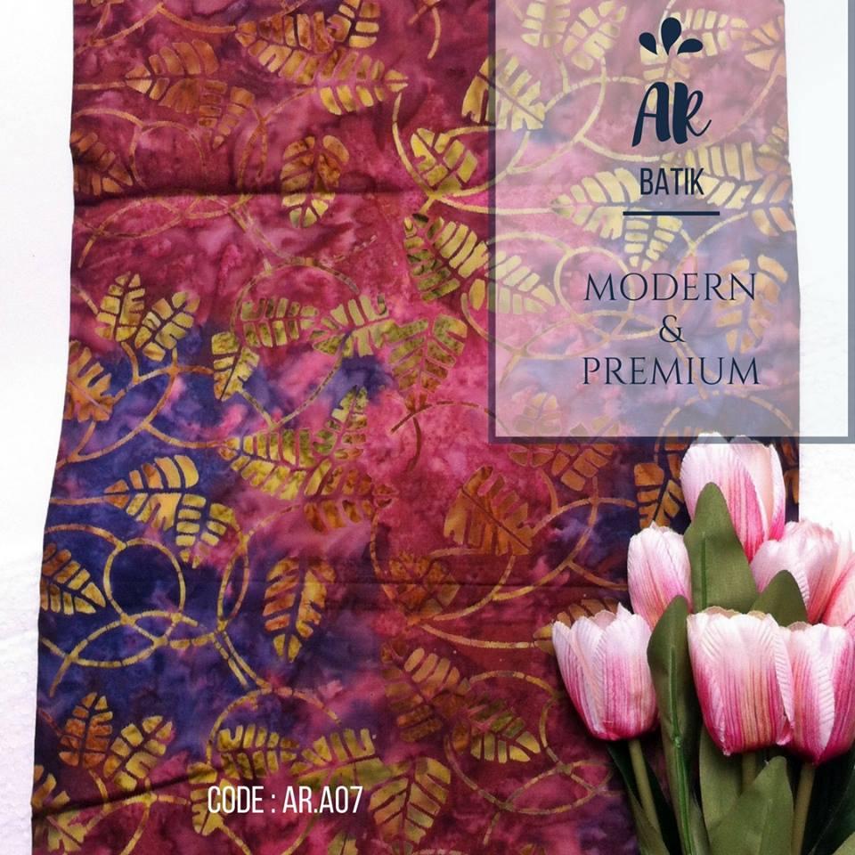 Pusat Grosir Batik Modern