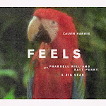 Calvin Harris - Feels (feat. Pharrell Williams, Katy Perry & Big Sean) - Single Cover
