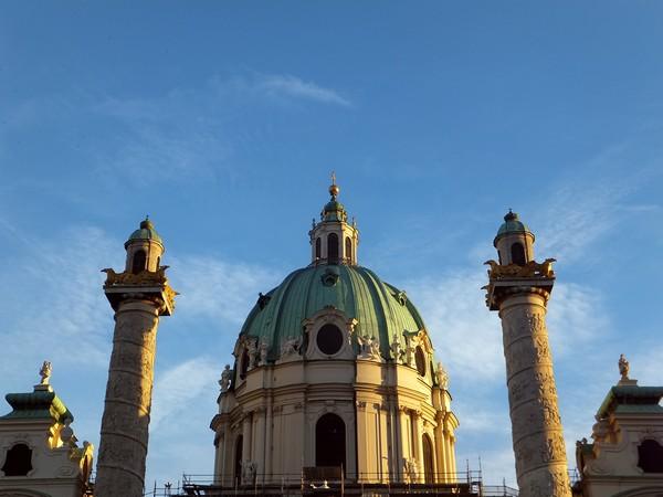 Vienne Vienna Wien karlskirche église