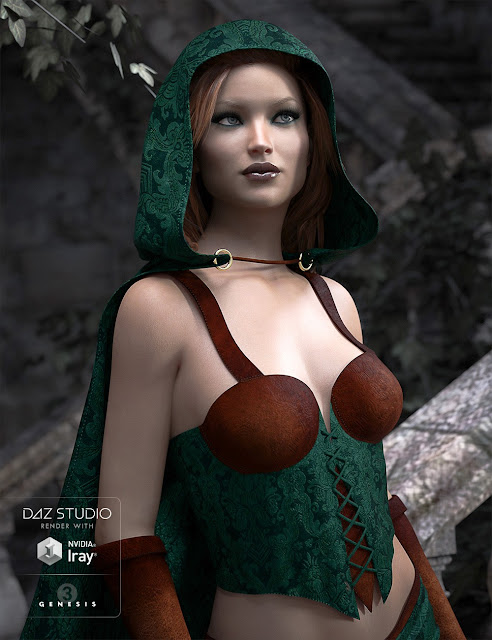 Fantasy Thief for Genesis 3 Female