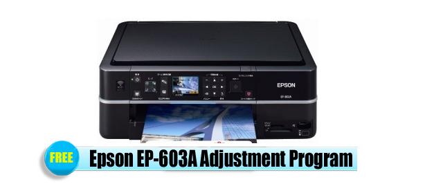 Epson EP-603A Adjustment Program