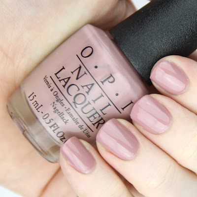 OPI Nail Lacquer in Tickle My France-y nail swatch review
