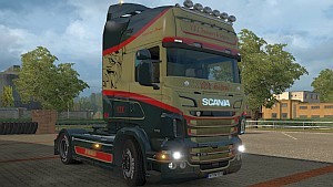 Scania RJL V.T.C Old School