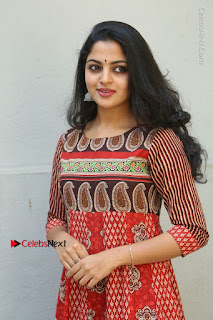 Telugu Actress Nikhila Vimal Latest Stills in Anarkali Dress  0040.JPG