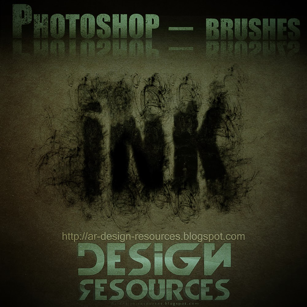 High-Res Ink Scratches brushes