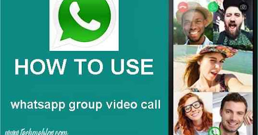 How to do group video call in whatsapp