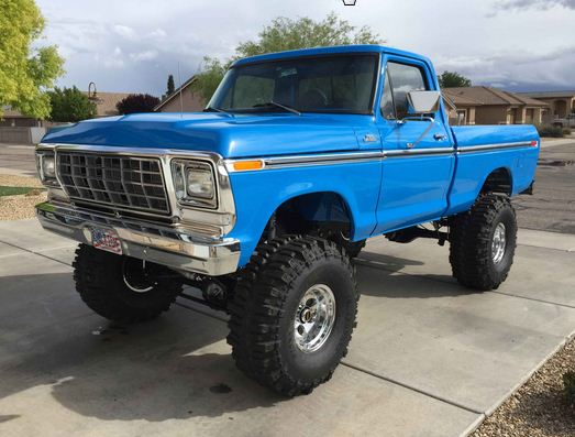 78 Chevy F100 Muscle Truck