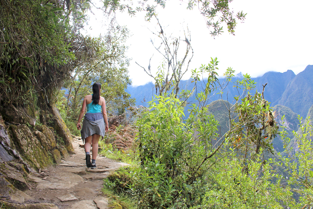 Hiking at Machu Picchu, Peru - lifestyle & travel blog