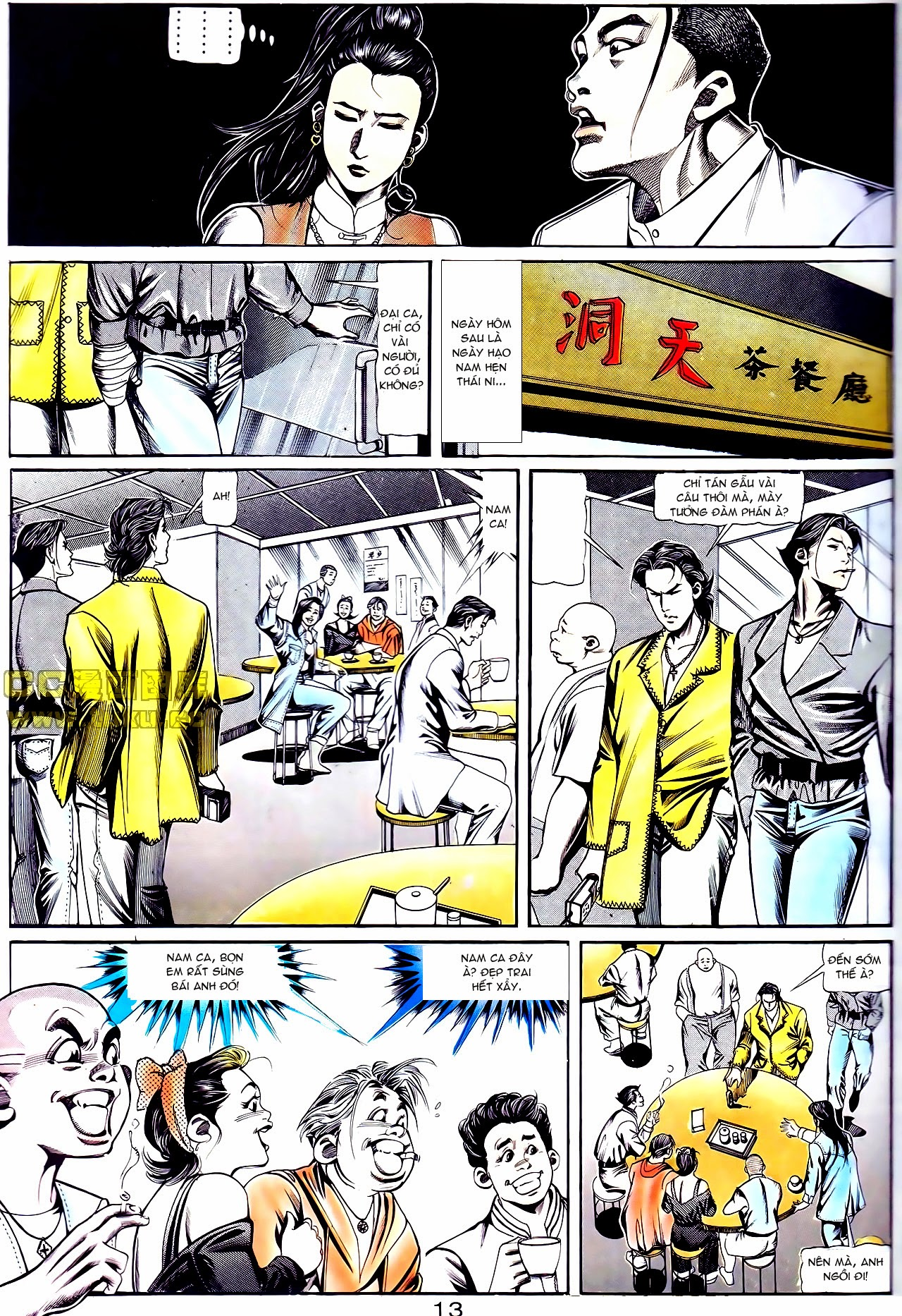 Người Trong Giang Hồ chapter 111: đời không nuối tiếc trang 13