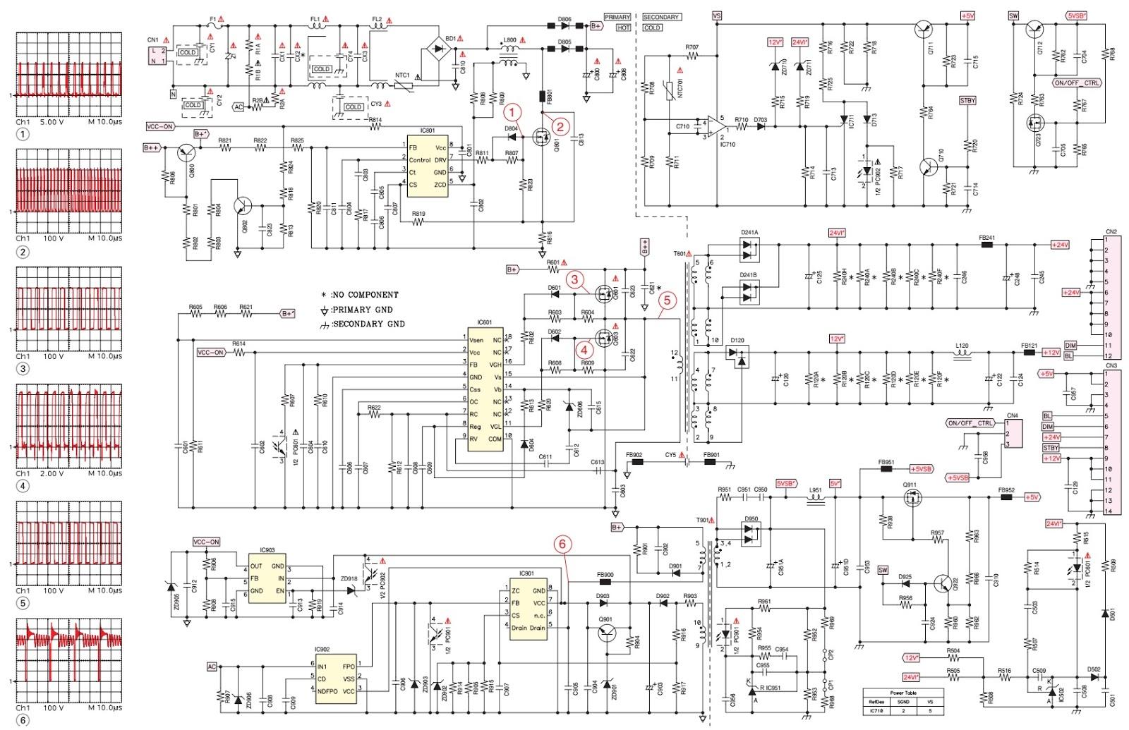 medium resolution of grundig lcd tv smps circuit diagram dps 145pp 133 electro help inverter pcb board circuit diagram inverter pcb board circuit diagram