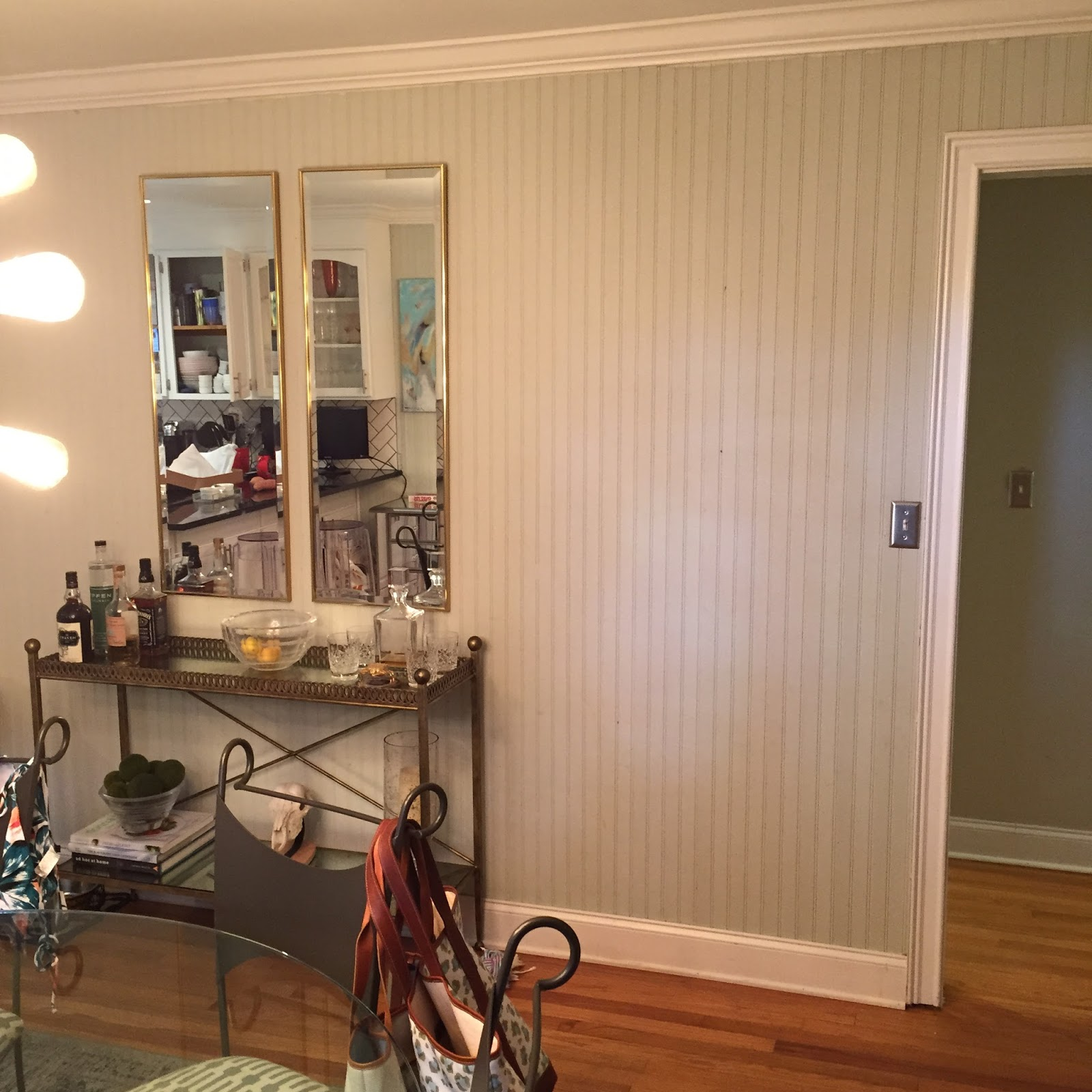 Designer Bags And Dirty Diapers: Our Dining Room Before
