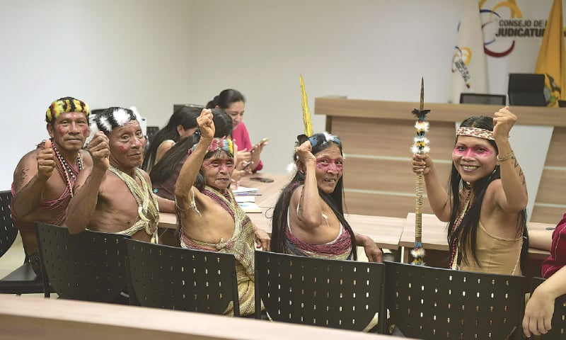 Amazon Tribe Won Their First Victory Against Oil Companies