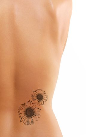 Sunflower Tattoos For Girls