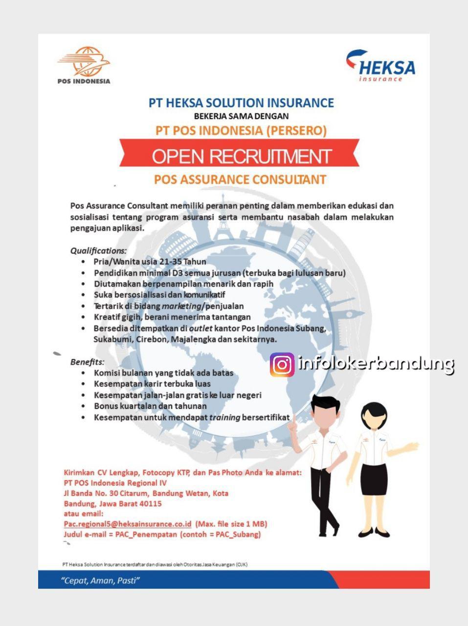 Lowongan Kerja PT. Heksa Solution Insurance Desember 2017 width=