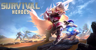 Free Download Survival Heroes Mod Apk RPG Battle Royale
