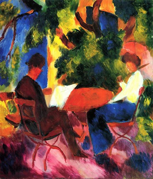 August Macke Expressionist Painter Part. 1 Tutt'art Pittura Scultura Poesia Musica