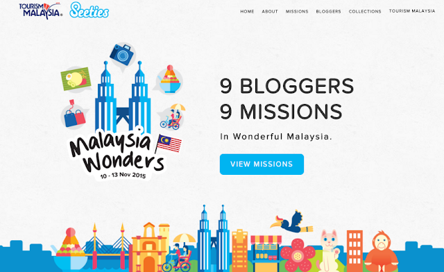 Tourism Malaysia x Seeties - Malaysia Wonders 9 bloggers 9 missions