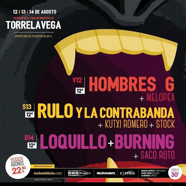 Festival 39 rock en la feria 39 2016 en torrelavega viajes - Librerias torrelavega ...