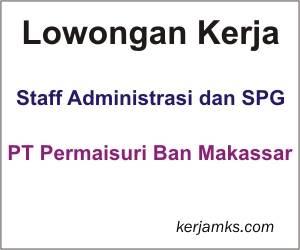 Lowongan Kerja Staff Administrasi dan SPG