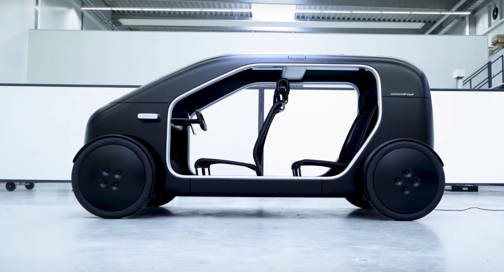Biomega Sin The Smart Electric Car For The City Electric Auto Moto