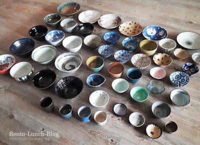Reisschalen, Ramenschüsseln und Teller: meine Geschirrsammlung