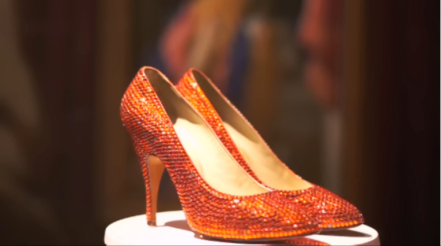 2e3cbddf089 The red stiletto shoes wore by Marilyn Monroe in the movie