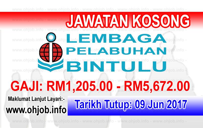 Jawatan Kerja Kosong BPA - Lembaga Pelabuhan Bintulu logo www.ohjob.info jun 2017