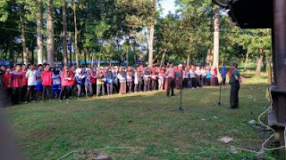 Perkemahan Blok Kelas 12 TA 2016/2017 di Buper Regaloh Pati