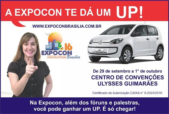 Começa hoje a EXPOCON 16 e o primeiro Congresso Nacional de Síndicos