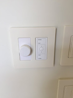 picture of a volume control and lutron pico remote