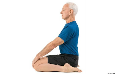 Hero Yoga Pose (Virasana)