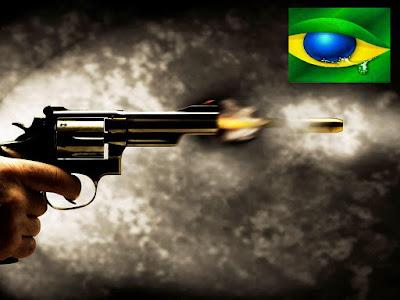 Os números impressionantes da violência no Brasil