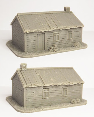 SCN-EF02  Russian house, type 2 (Size: 70x50mm)