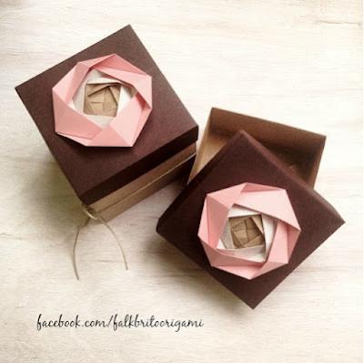 Coisicas Artesanais - Falk Brito - Origami