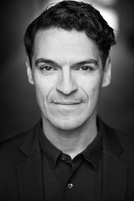 Schauspieler, Michael Dierks fotografiert in London von Michael Carlo