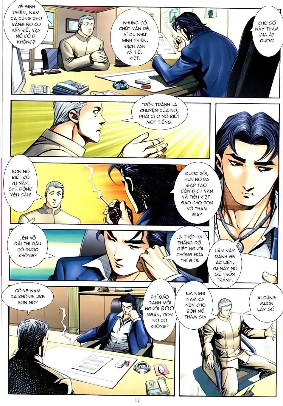 Người Trong Giang Hồ chapter 587: thiên thu và thái tử trang 16