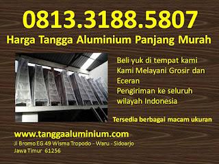 Harga tangga aluminium panjang murah